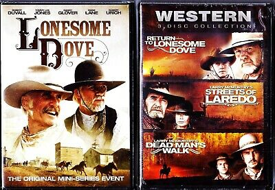 Lonesome Dove Collection 1, 2, 3 & 4 - DVD TV Mini Series Event BRAND NEW