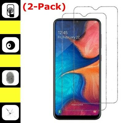 2-Pack Tempered Glass Screen Protector For Samsung Galaxy A20 / A30 / A50 2019