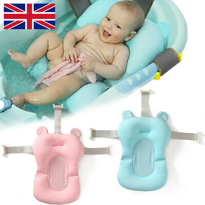 Baby Bath Pad Non-Slip Bathtub Mat New Safety Security Bath Seat Support UK