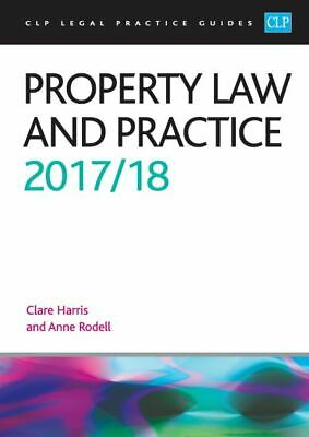 CLP legal practice guides: Property law and practice by Anne Rodell (Paperback