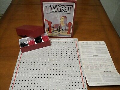 Vintage Twixt Strategy Board Game Complete Bookshelf Edition 1962 3M Games