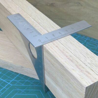 Woodworking Triangle Ruler 45 90 Degree Square Angle Layout Rafter Measuring