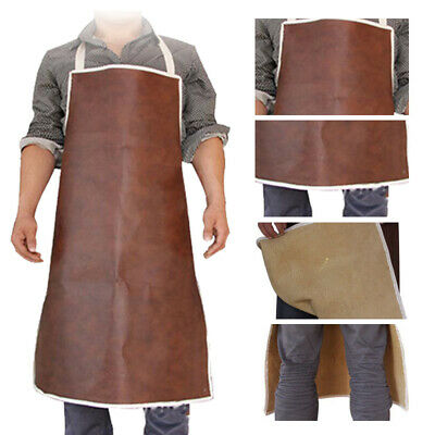 Cow Leather Apron Safety Clothing Welders, Blacksmith, Metal Worker