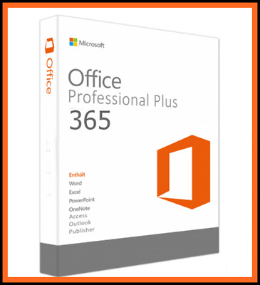 Microsoft Office 365 Pro Plus 5Pc Account PC/MAC/Tab, 5TB OneDrive 2016 Pro Plus