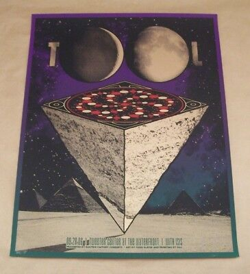 Todd Slater Tool Isis Camden Tweeter 2006 Gig Poster Artist's Proof NM-Good