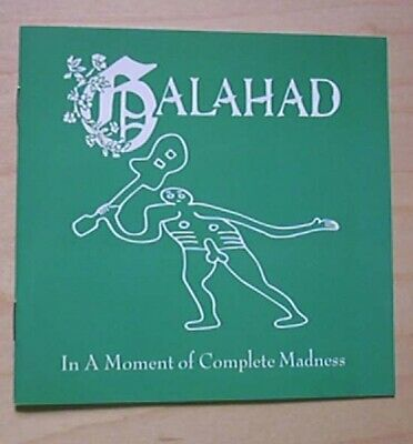 Galahad In A Moment Of Complete Madness Cd 8 Track 1993 Uk