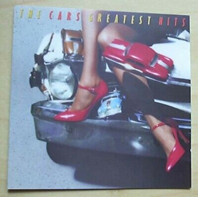 Cars Greatest Hits Cd 13 Track 1985 German