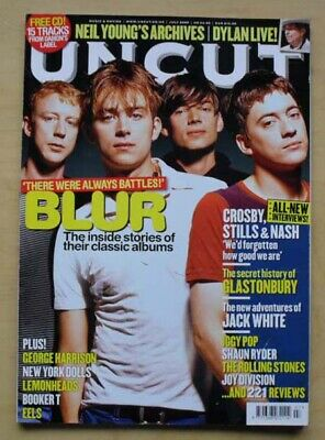 Blur Uncut #146 Magazine  July 2009 Blur Cover With Feature Inside (No Cd) Uk