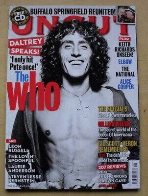Who Uncut #171 Magazine  August 2011 Roger Daltrey Cover With Feature Inside (No