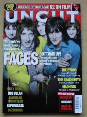 Faces Uncut #130 Magazine March 2008 The Faces Cover With Feature Inside Uk