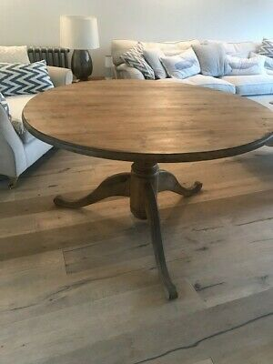 Pine round dining table 120cm diameter - Fabulous family & dinner party table