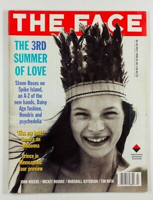 Kate Moss CORINNE DAY John Waters STONE ROSES The Face magazine July 1990 No. 22