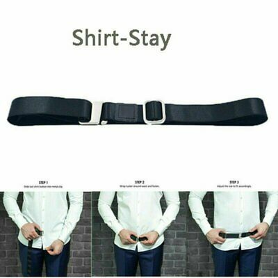 Shirt Holder Adjustable Near Shirt Stay Best Tuck It Belt for Women Men Work