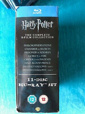 Harry Potter - The Complete 8-Film DVD / Blu-Ray Collection