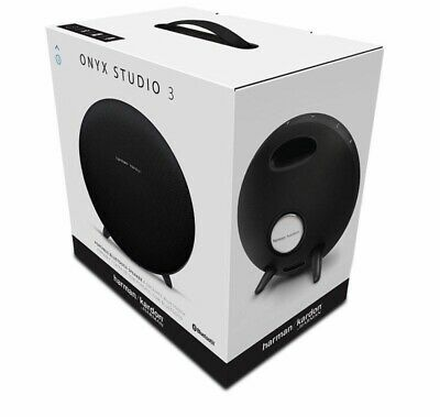 Harman Kardon Onyx Studio 3 Portable Bluetooth Speaker HKONYXSTUDIO3BLKAM