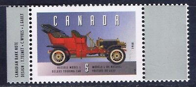 Canada #1605b 1996 5 cent Vehicles RUSSELL MODEL L TOURING CAR (1908) MNH