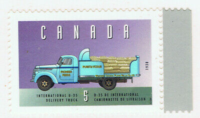 Canada #1605i(1) 1996 5 cent Vehicles - INT'L D-35 DELIVERY TRUCK (1938) MNH
