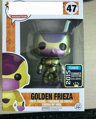 Funko POP DRAGONBALL Z GOLDEN FRIEZA PVC Action Figure Model 47 COMIC CON