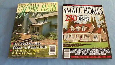 1997 America's Best Small Home Plans & Build Your Own Home Plans