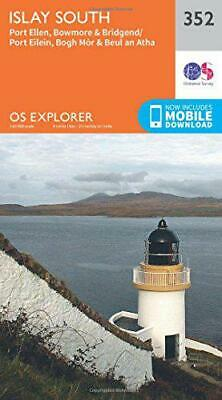 OS Explorer Map (352) Islay South by Ordnance Survey, NEW Book, FREE & Fast Deli