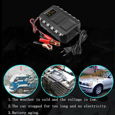 Car Motorcycle 12V 20A Automobile Intelligent Battery Lead Acid Battery Charger