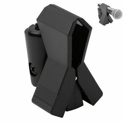 Mic Microphone Stand Flexible Plastic Clamp Clip Holder Mount Accessory