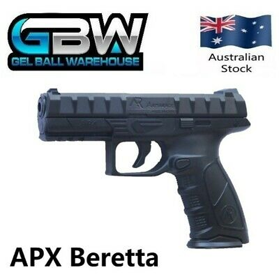 APX Beretta Manual Magazine Fed Gel Ball Blaster Water Crystal Pistol Toy