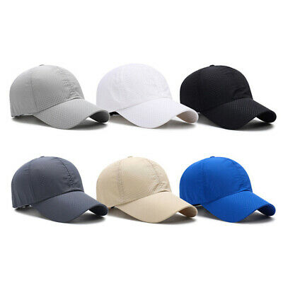 Men Plain Washed Cap Style Cotton Breathable Baseball Cap Blank Solid Hat Casual