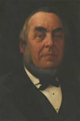 Fine Late 19th Century Oil - Portrait of a Victorian Gentleman