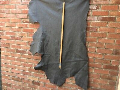 PART LEATHER ITALIAN HIDE  Dark grey