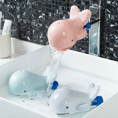 Lovely Whale Faucet Extender Children Hand Washing Bathroom Sink Accessories