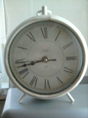Round French Mantle Clock