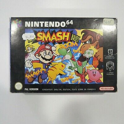 Super Smash Bros Nintendo 64 Complet