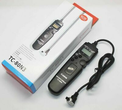 TC-80N3 Timer Remote Controller Switch Shutter Release for Canon Camera 7D 6D 5D