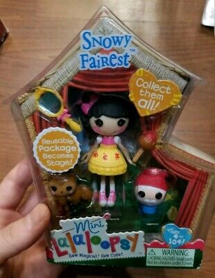 NEW Mini Lalaloopsy SNOWY FAIREST Winter Holiday Doll 2 of Series 10 Brand New