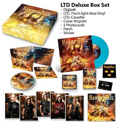 HAMMERFALL Dominion BOXSET Limited Edition NEW .cp