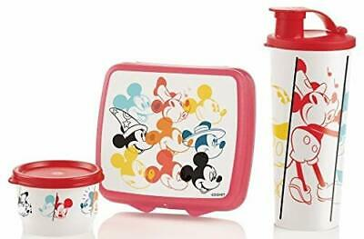Tupperware New DISNEY'S EARS THROUGH THE YEARS LUNCH SET Mickey Mouse
