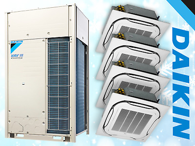 Daikin Air Conditioning 35Kw System Office Industrial Commercial Shop Split Used