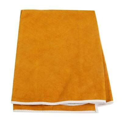 Welding Apron Heat Insulation Protection Yellow Wear resistance Useful