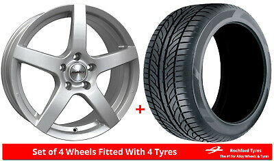"""Alloy Wheels & Tyres 15"""" Calibre Pace For Ford Courier 91-06"""