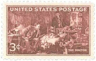 SCOTT # 949  US Postage Stamp  THE DOCTOR   3 CENT   Mint Condition.