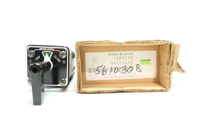General Electric Ge 10AA118 Breaker Control Rotary Cam Switch