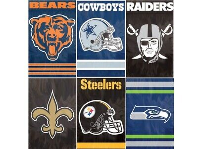 NFL House Banner Flag PREMIUM Outdoor DOUBLE SIDED Embroidered ~ ALL TEAMS