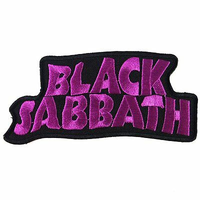 Patch Cube Black Sabbath Heavy Metal Punk Rock Band Iron,2 by 4.5-Inches