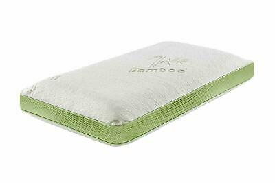 Luxury Bamboo Memory Foam Soft Cot Bed Mattress or Cot Pillow Toddler Bedding