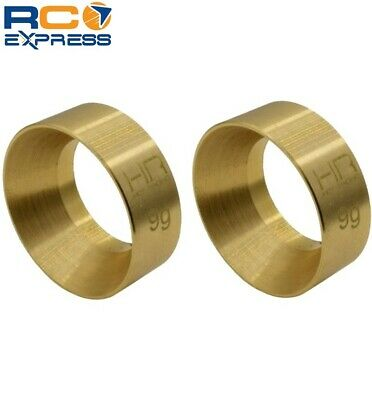 Hot Racing Axial SCX24 9g Brass Kmc Machete Wheel Weights SXTF2612H