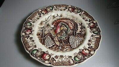 """Johnson Brothers His Majesty Dinner Plate 10 5/8"""""""