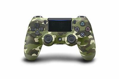 PlayStation 4 DualShock 4 Green Camouflage Controller [Sony PS4 Wireless Remote]