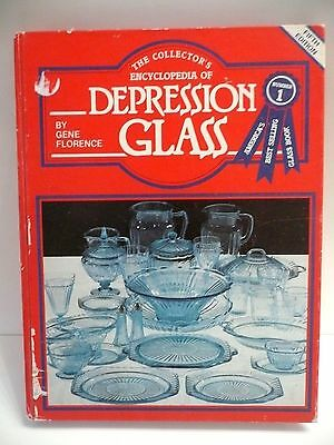 Depression Glass  Encyclopedia Reference Collector's ID hard cover book  1982