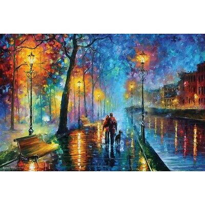 Melody of the night Horizontal Poster Paper Poster Without Frame